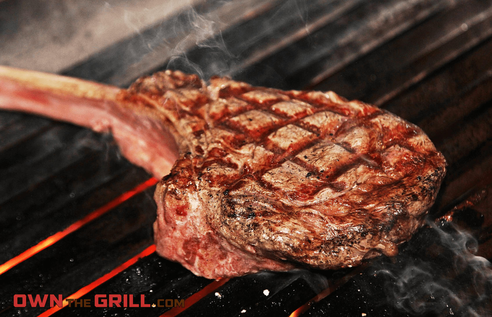 How To Grill A Tomahawk Steak Recipe Own The Grill