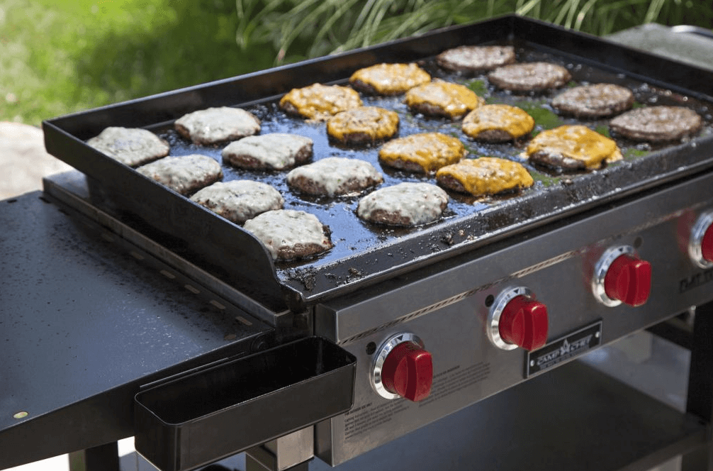 Blackstone Vs Camp Chef Who Makes The, Round Flat Top Grill For Outdoor Kitchen
